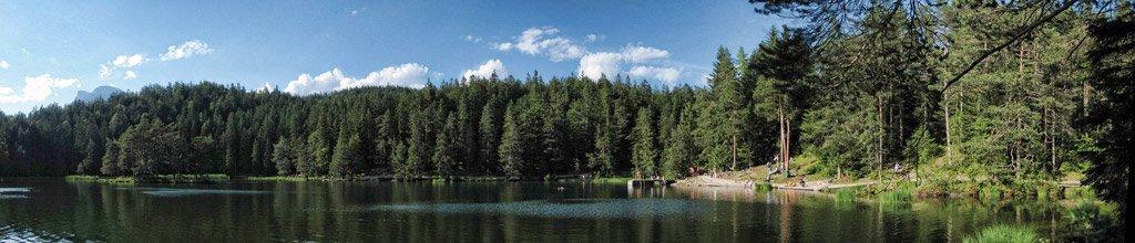 Rundblick Möserer See